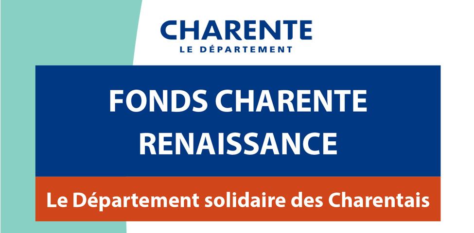 Fonds Charente Renaissance