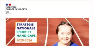 Présentation des mesures phares de la Stratégie nationale Sport et Handicaps