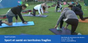 Appel à projets «Sport et santé en territoires fragiles»
