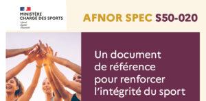 Éthique et intégrité du sport : le nouveau guide AFNOR